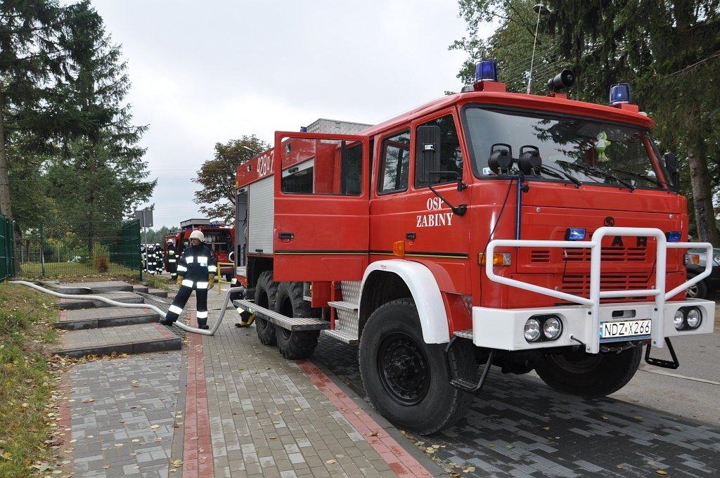 Koszelewy: ćwiczenia strażaków