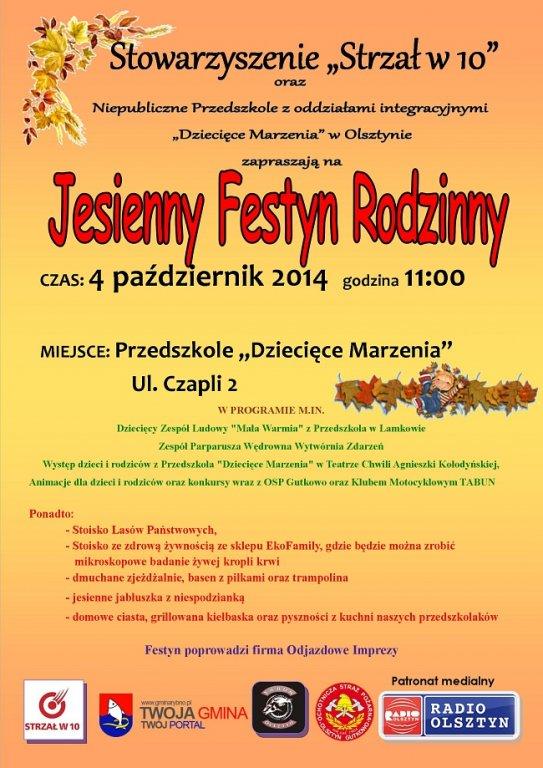 Jesienny Festyn Rodzinny