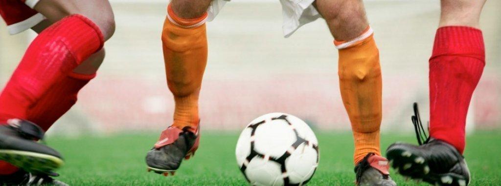 Mecz piłki nożnej Rybno-Kisielice