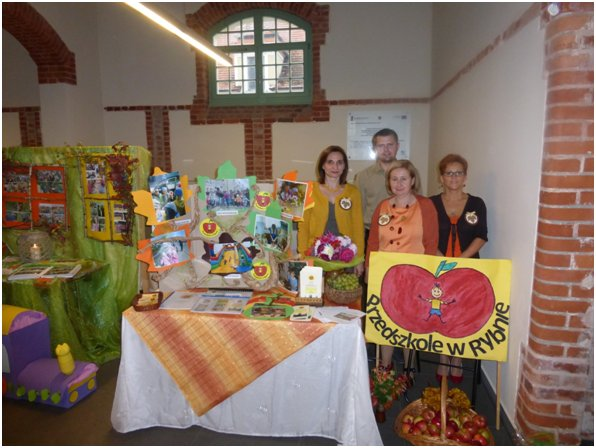 Przedszkole w Rybnie wyróżnione za działalność prozdrowotną