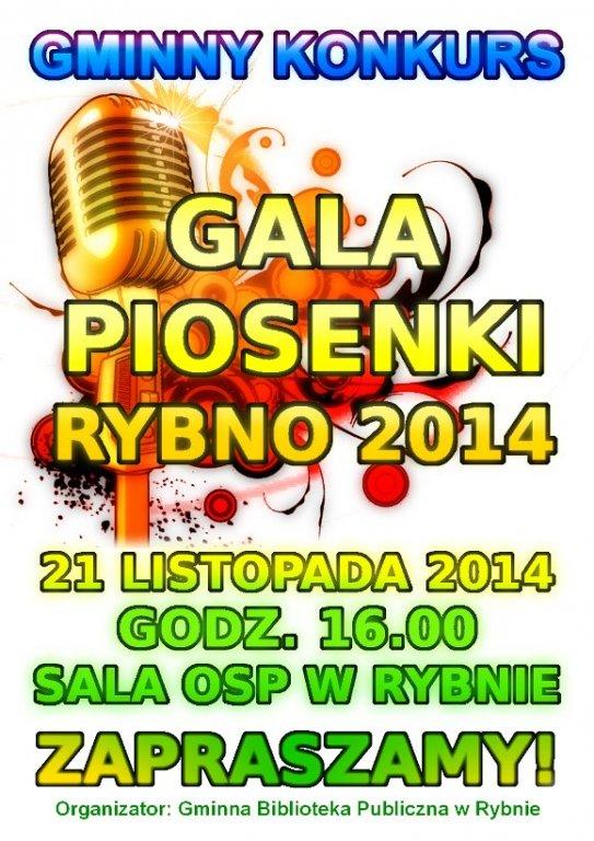 Gala Piosenki – Rybno 2014