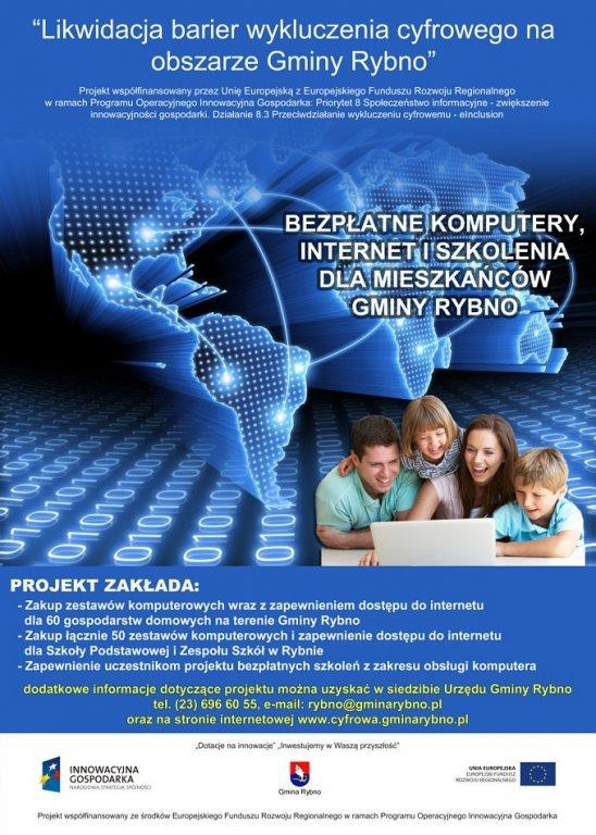 Spotkanie informacyjne dla uczestników projektu