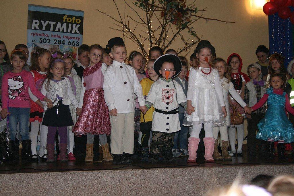 Choinka noworoczna w Rumianie
