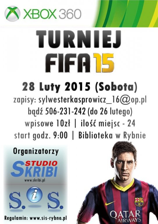 Turniej FIFA 15