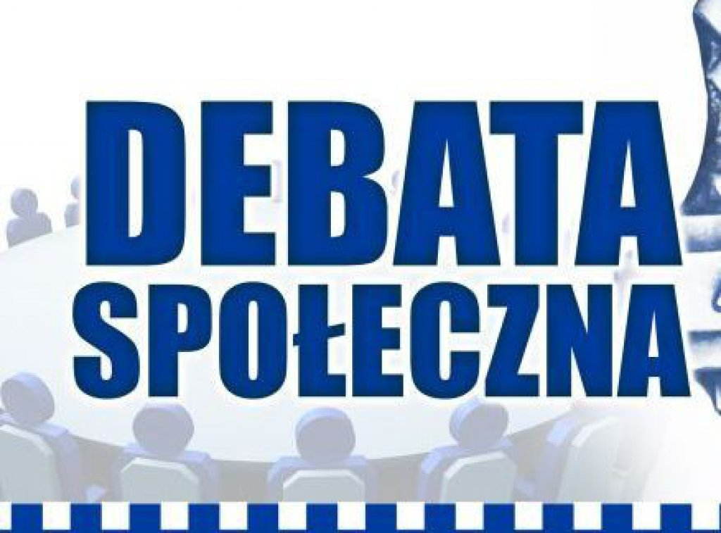 Zaproszenie na debatę społeczną