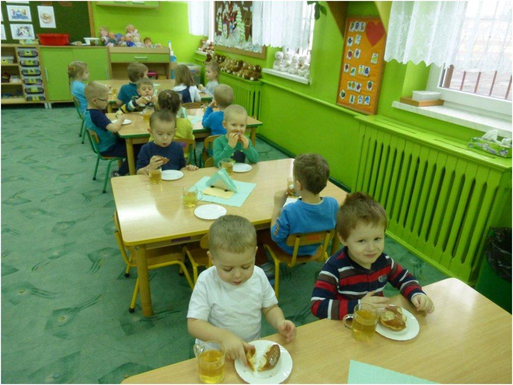 Tłusty czwartek w przedszkolu