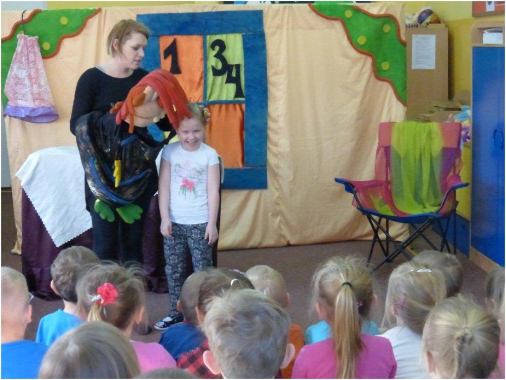 Aktorzy w przedszkolu