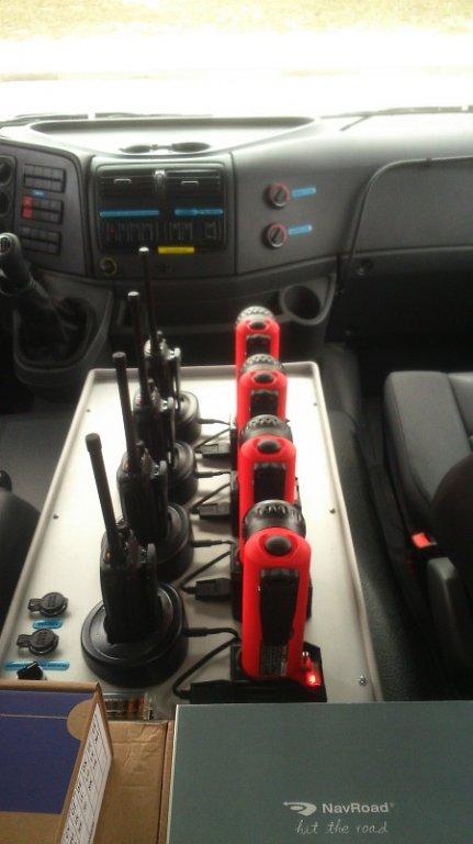 Odbiór samochodu OSP Żabiny