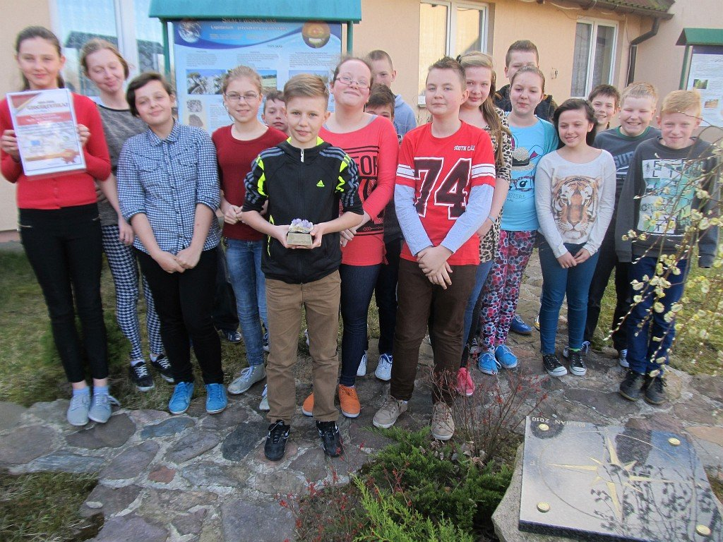 Geocertyfikat dla szkoły w Rumianie