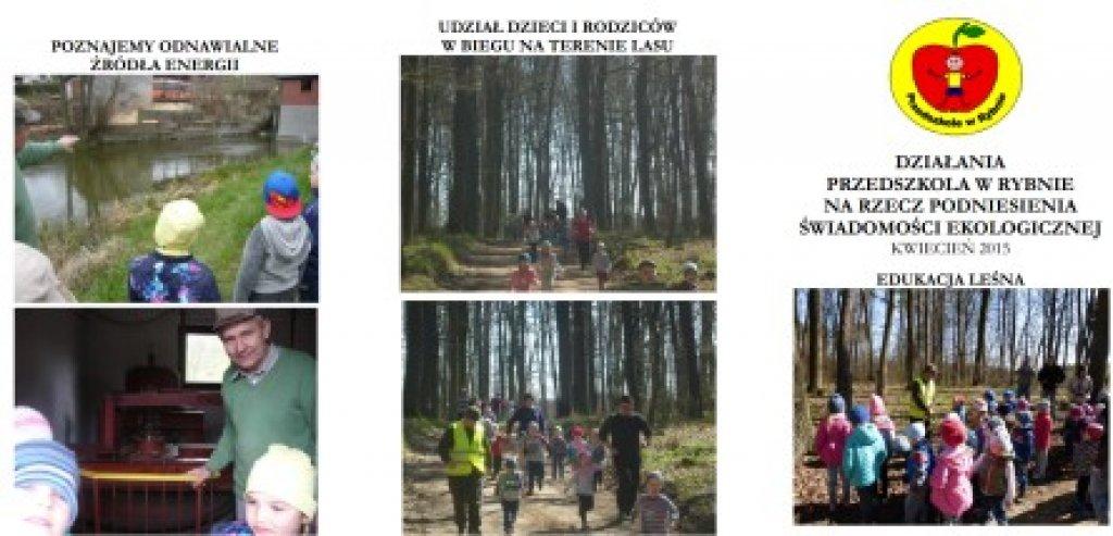 Działania ekologiczne przedszkolaków