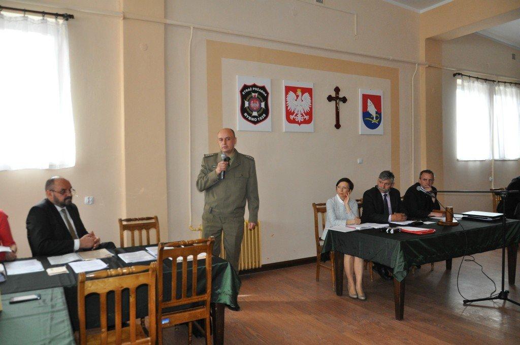 Szkolenie obronne dla Radnych i Sołtysów