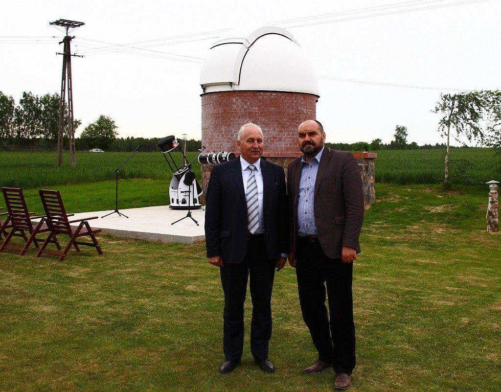 Inauguracja działalności  Obserwatorium Astronomicznego w Truszczynach