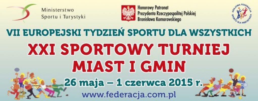 VII Europejski Tydzień Sportu - sprawozdanie