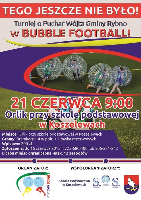 Zapraszamy na turniej Bubble Football