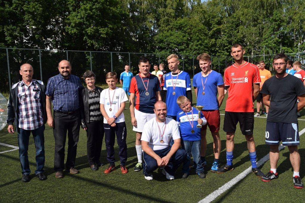 Eurostyl Rybno mistrzem w Bubble Football
