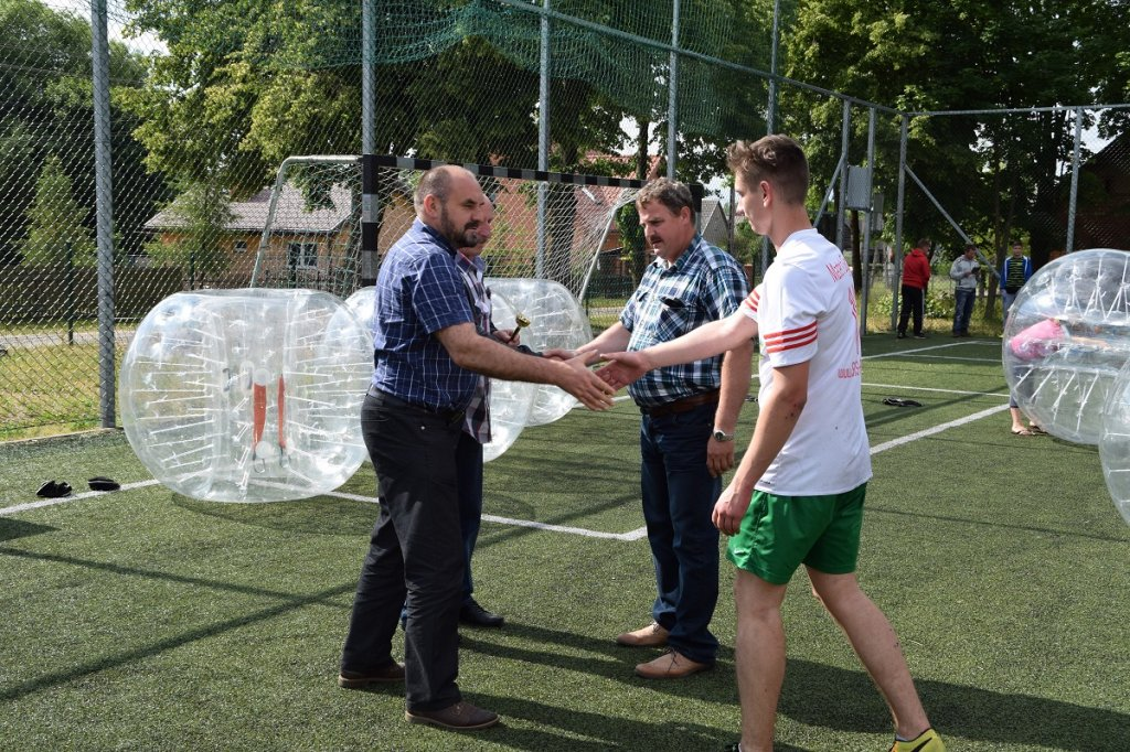 Eurostyl Rybno mistrzem w Bubble Football