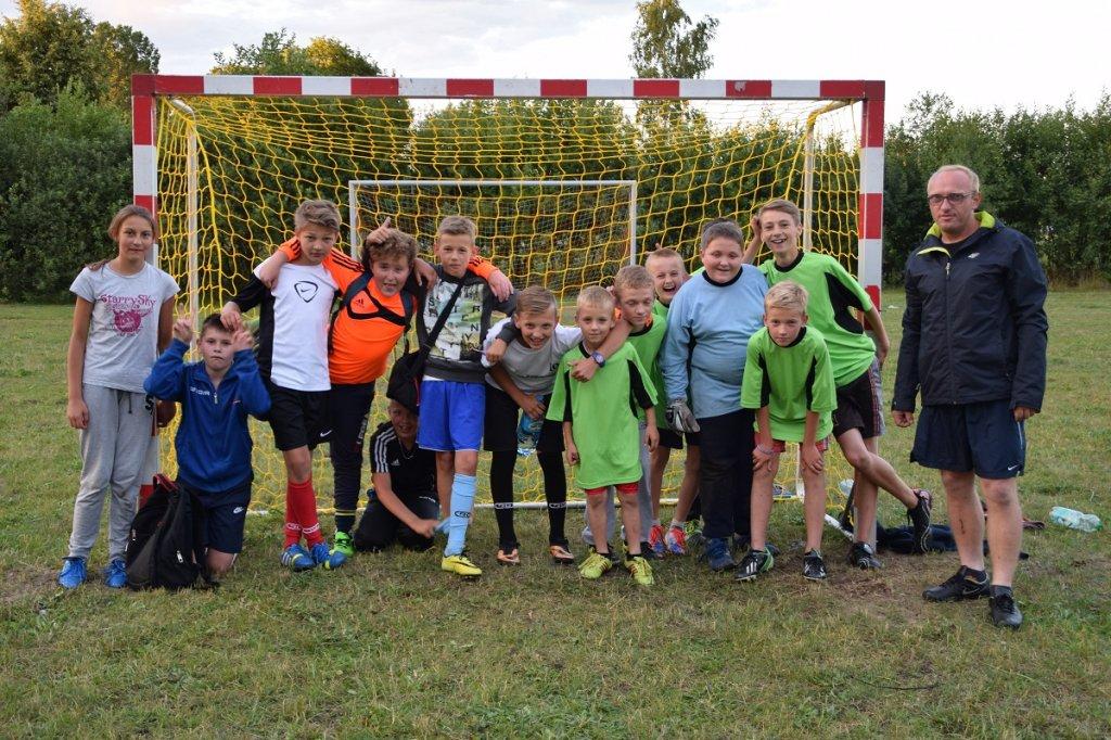 Mecz młodzików w Tuczkach