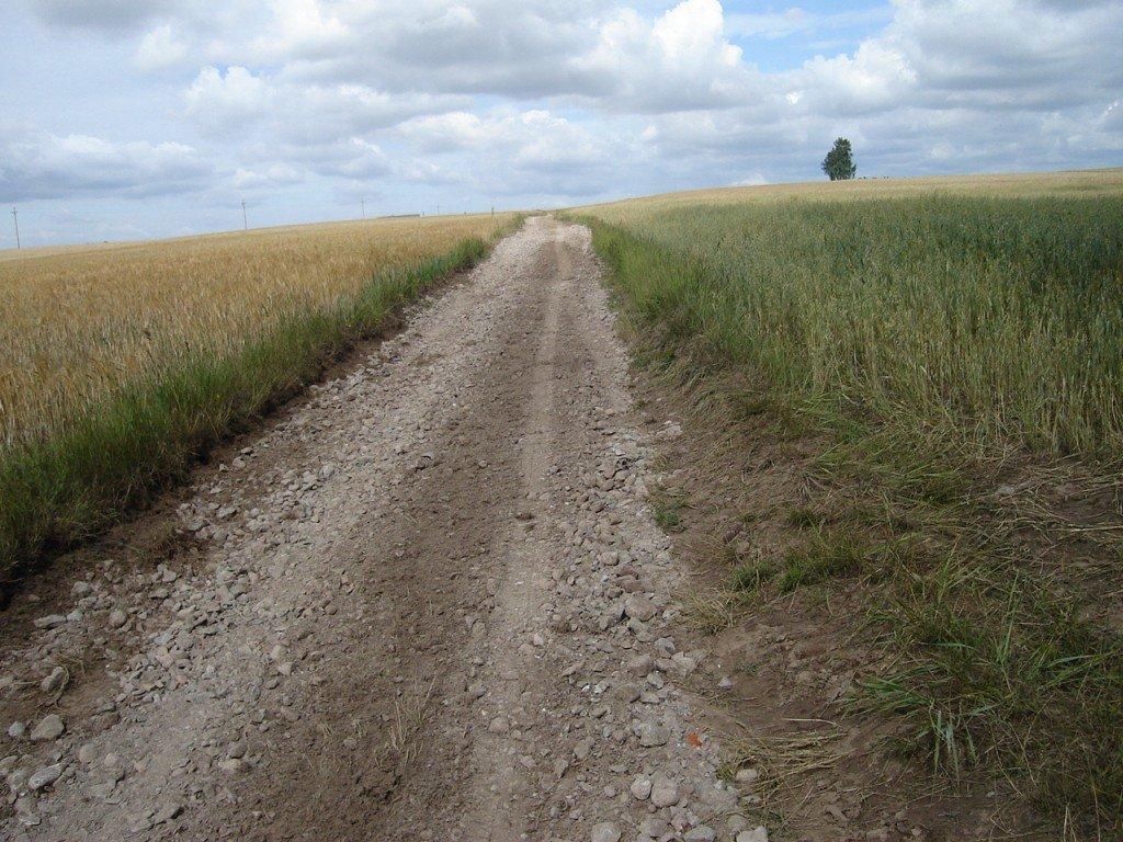 Remont dróg w Truszczynach