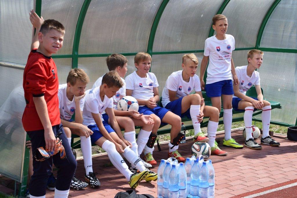 Mecz towarzyski młodzików z Lechią Gdańsk