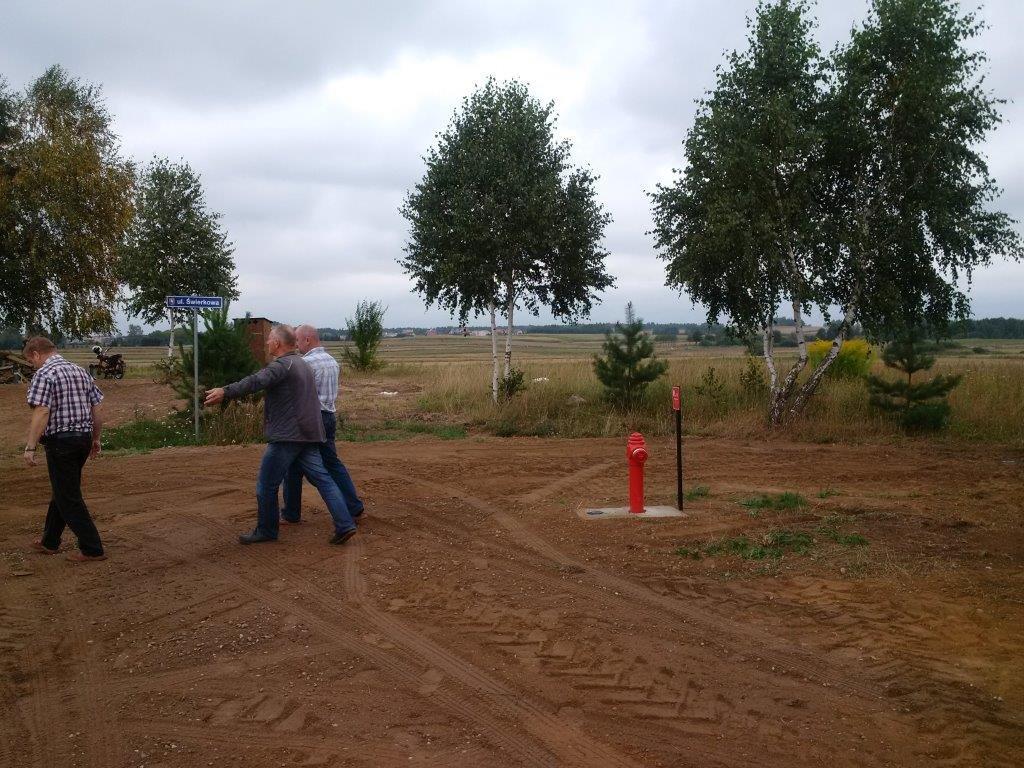Dalsze wodociągowanie wsi