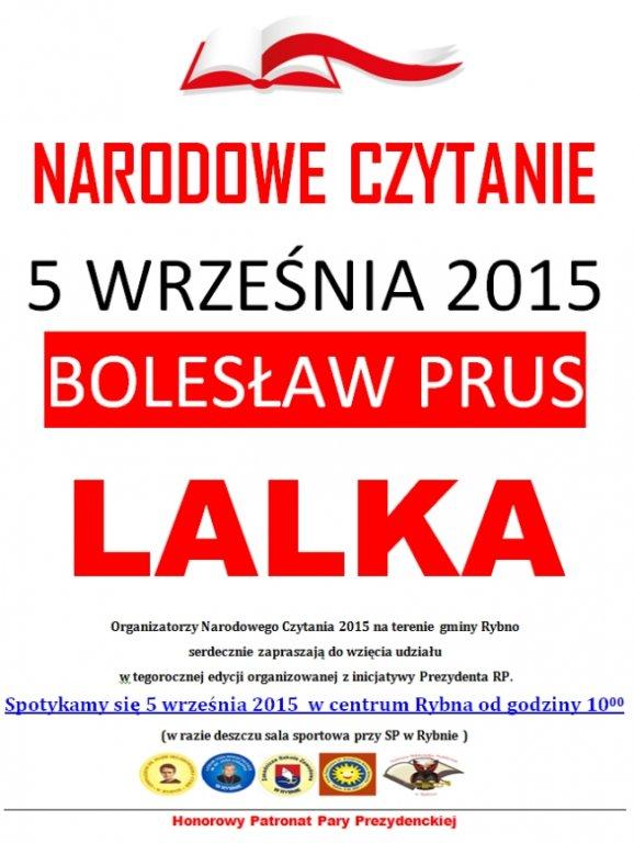 Narodowe czytanie 2015