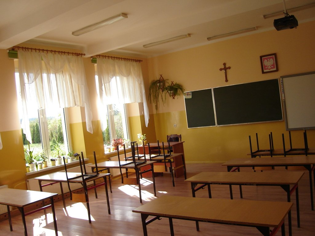 Szkoła w Żabinach przygotowana na powrót uczniów z wakacji