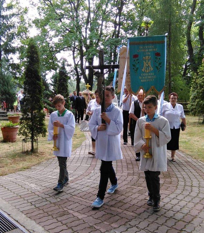 Dożynki parafialne w Rumianie
