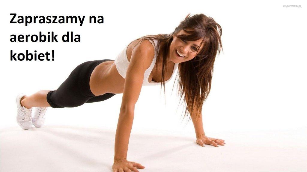 Zapraszamy na aerobik dla kobiet