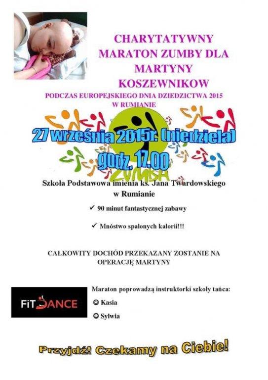 Charytatywny maraton Zumby