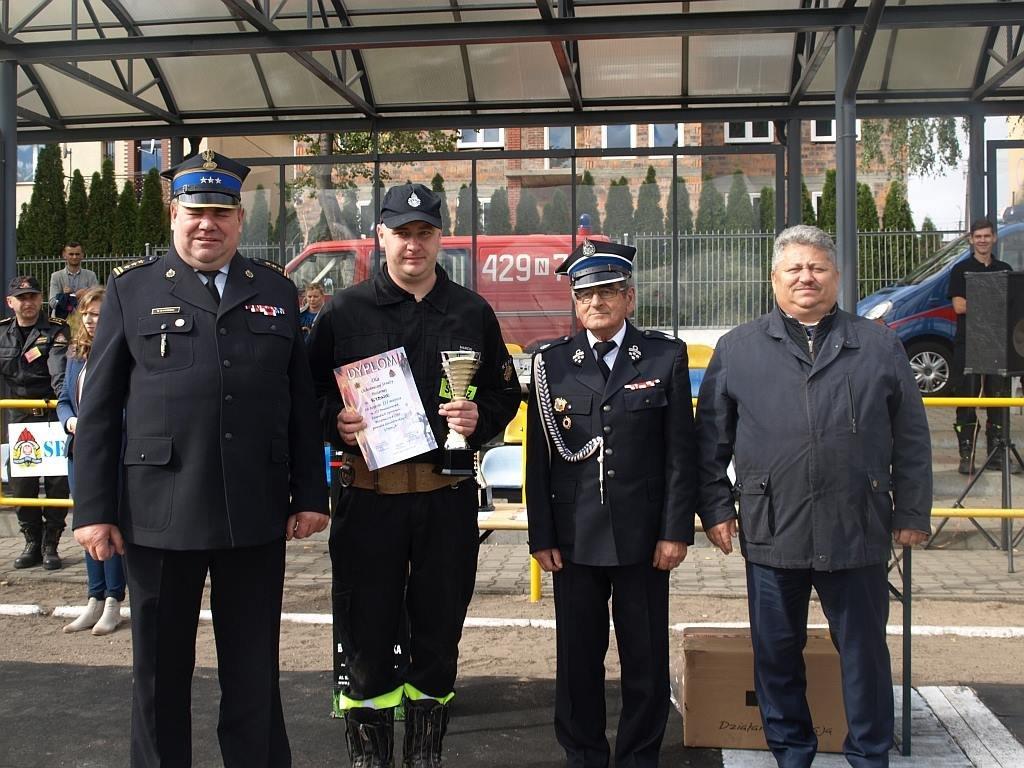 Strażacy z Gminy Rybno na podium