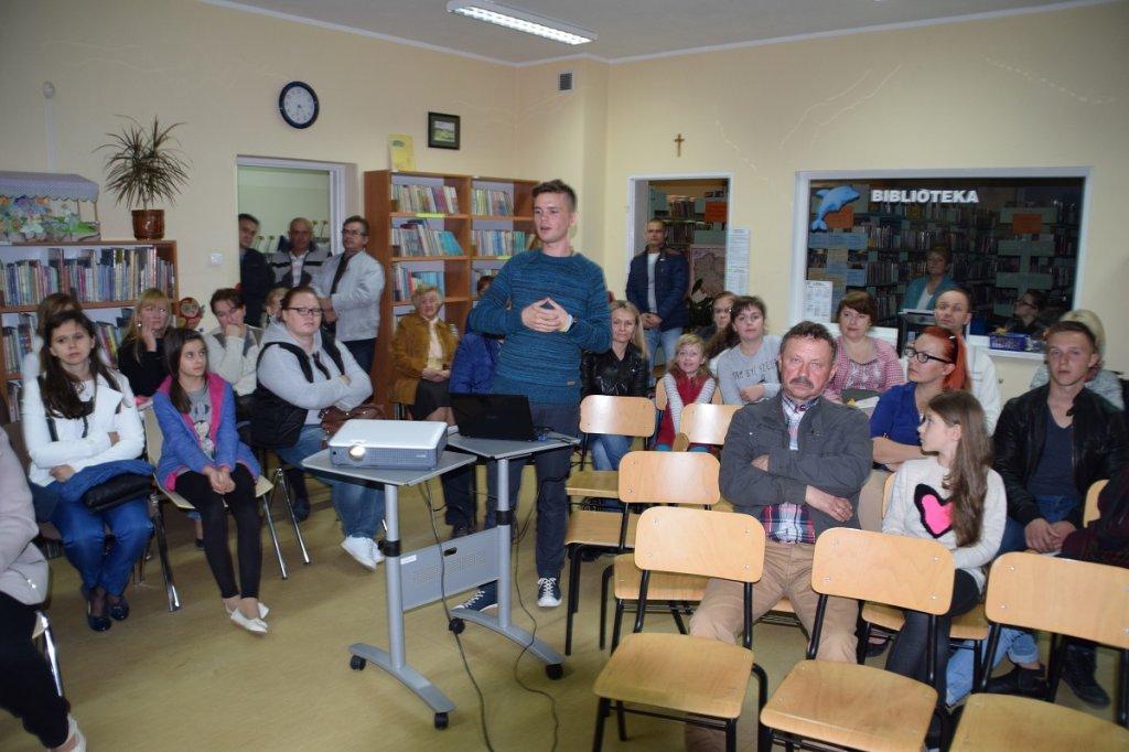 Spotkanie autorskie z Danielem Kasprowiczem
