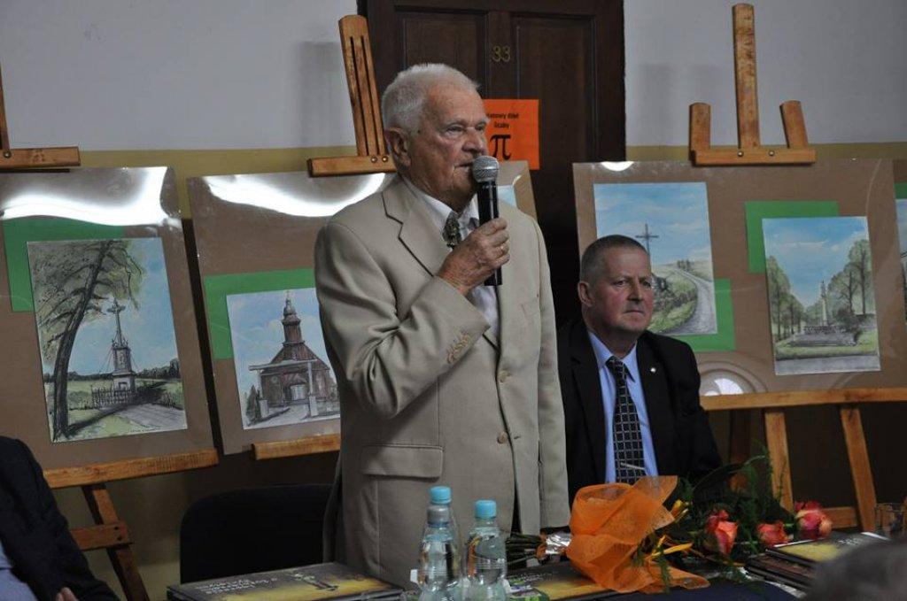 Pan Józef Zbigniew Polak w Zespole Szkół w Rybnie