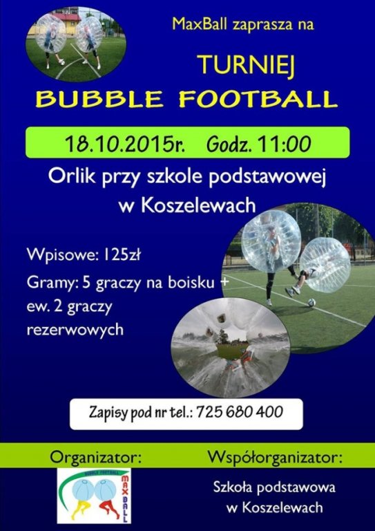 Turniej Bubble Football