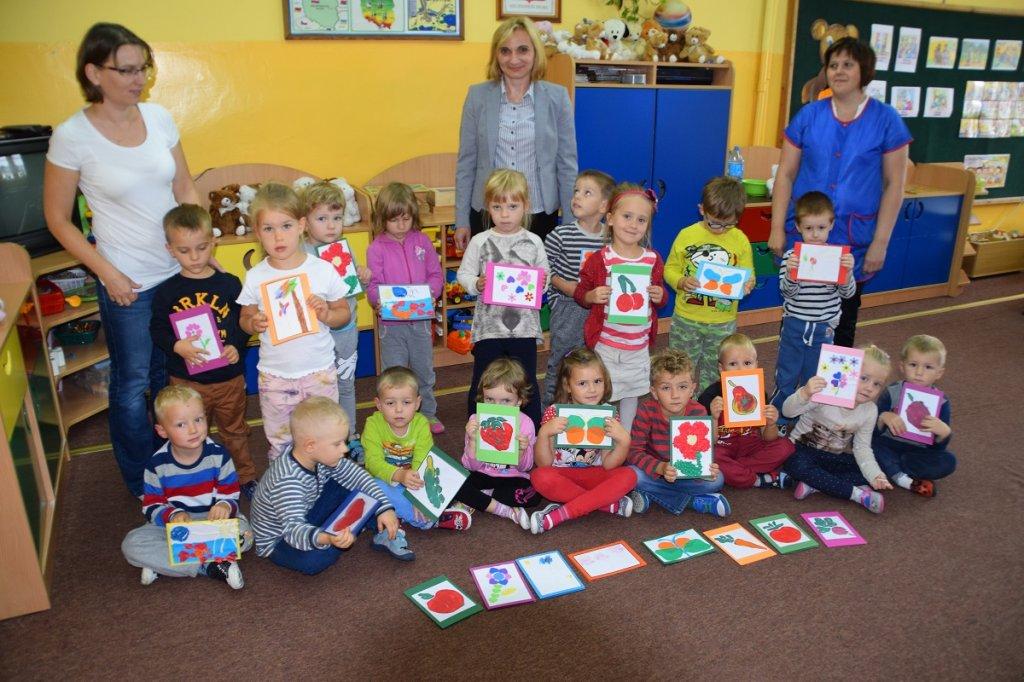 Przedszkolaki pomogły w zbiórce pieniędzy dla działacza GSZS Delfin Rybno