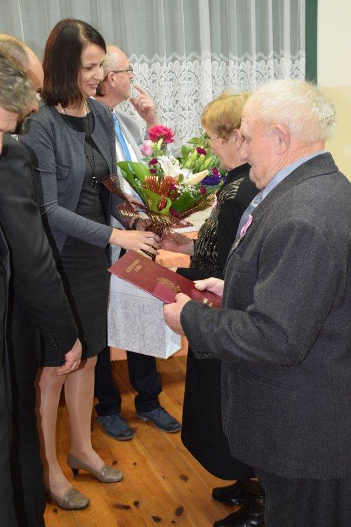 Uroczystość 50-cio letniego pożycia małżeńskiego