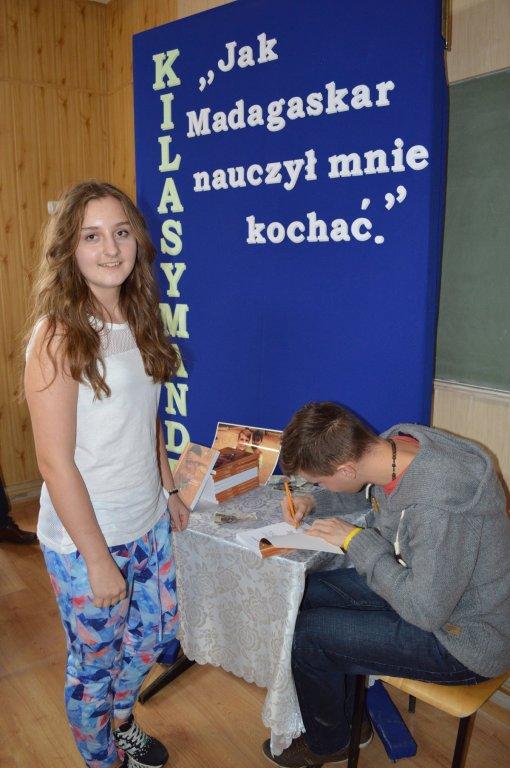 Spotkanie z Danielem Kasprowiczem