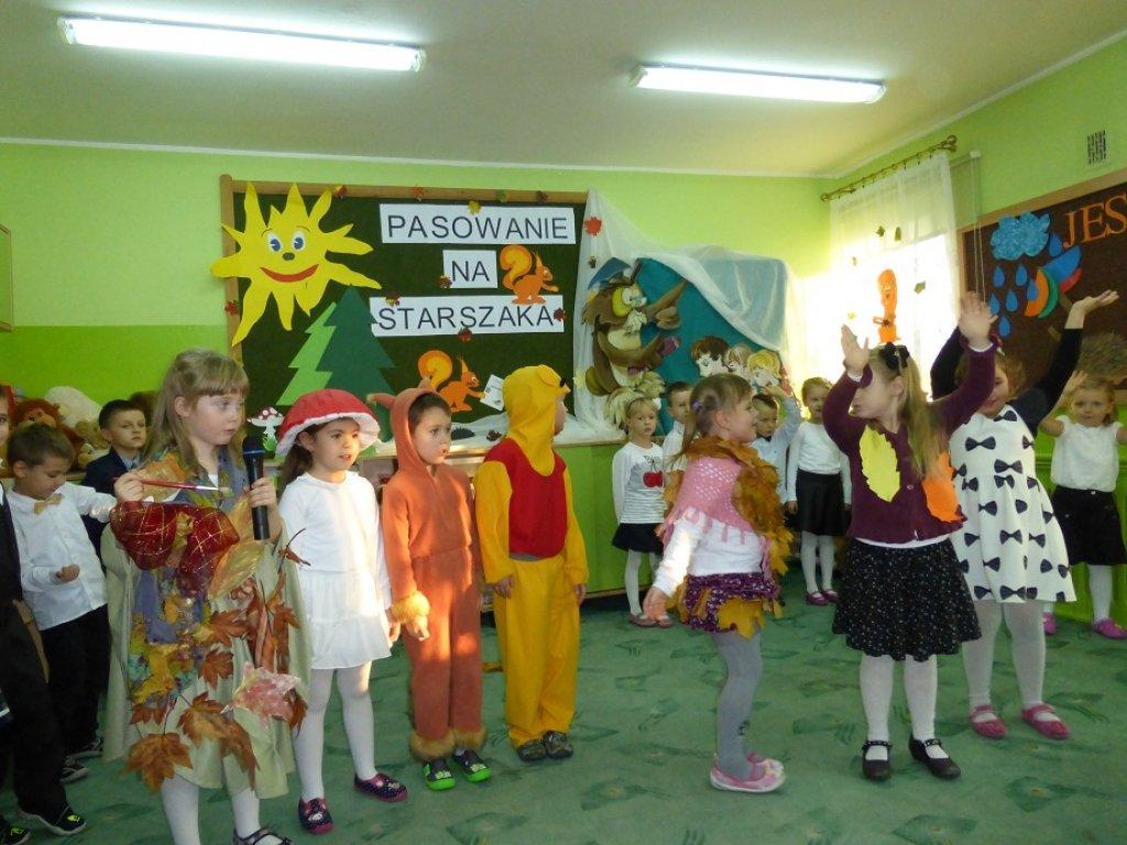 Pasowanie na przedszkolaka w Przedszkolu w Rybnie