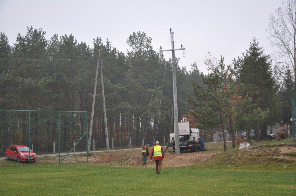 Przebudowa linii SN 15kV