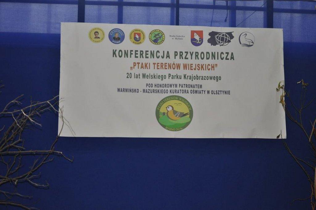 Konferencja przyrodnicza 'Ptaki terenów wiejskich'