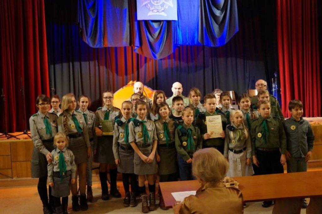 Sukces harcerzy ze Szkoły Podstawowej w Rybnie
