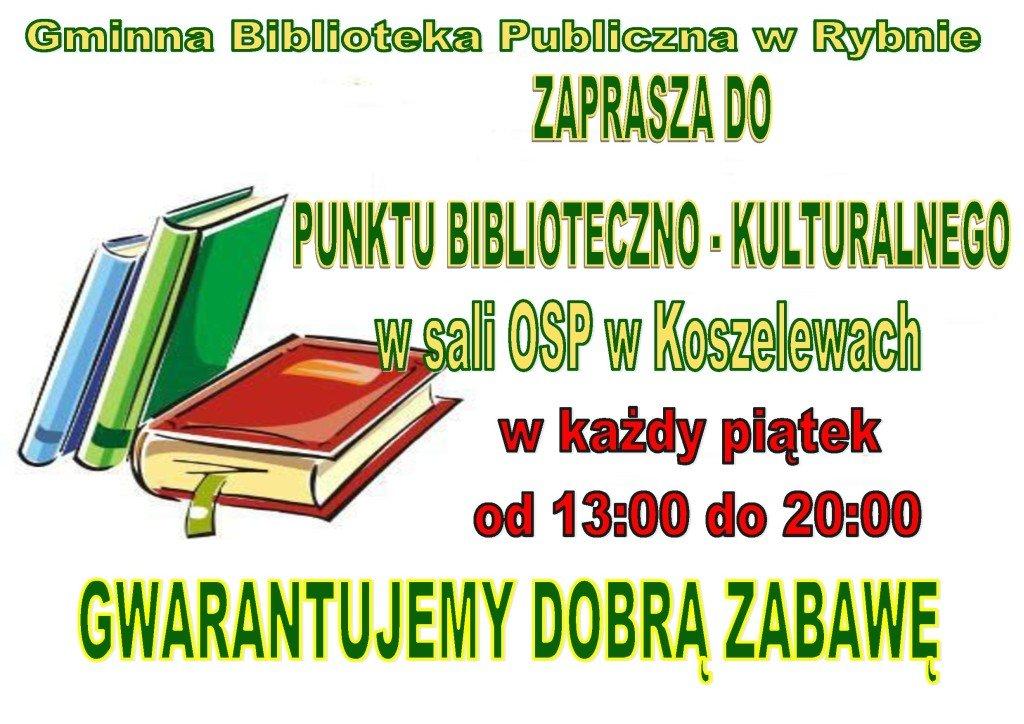 Nowy punkt biblioteczny na terenie gminy