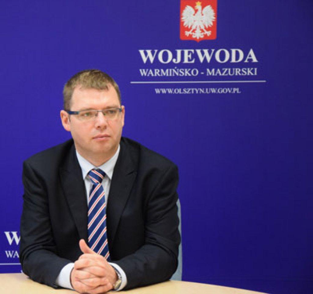 Zaproszenie na spotkanie z Wojewodą Warmińsko-Mazurskim