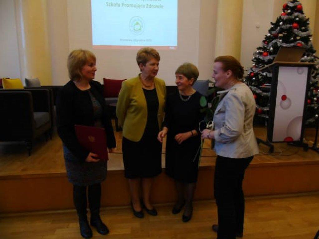Szkoła Podstawowa w Rybnie promuje zdrowie