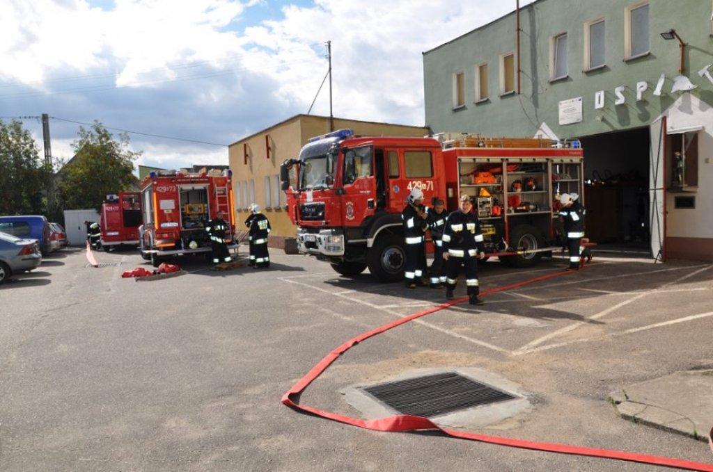 Aktywny 2015 rok Ochotniczej Straży Pożarnej w Rybnie