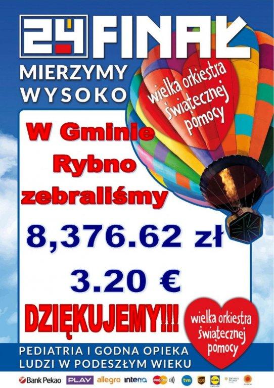 24 finał WOŚP w Rybnie