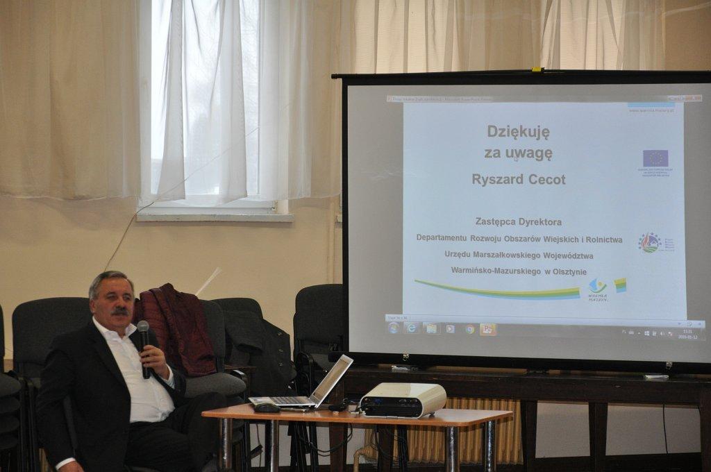 Przedstawiciel samorządu województwa na XVIII Sesji Rady Gminy Rybno