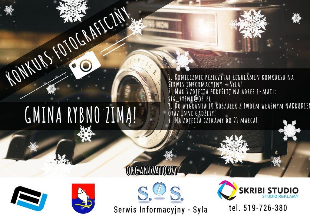 Konkurs Fotograficzny - Gmina Rybno zimą