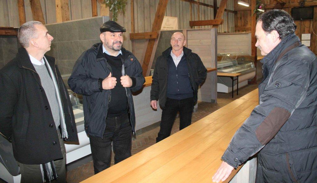 Samorządowcy z Rybna z wizytą w gminie Dywity