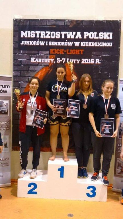 Marta Lipka obroniła tytuł Mistrza Polski w formule Kick-light