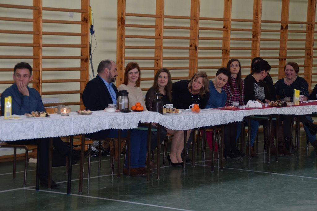 Żabiny: Sołtys i rada sołecka zorganizowali Dzień Kobiet